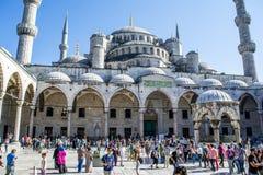 Μουσουλμανικό τέμενος Ahmet σουλτάνων στη Ιστανμπούλ, Τουρκία Στοκ Εικόνα