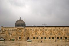 Μουσουλμανικό τέμενος Al Aksa, Ιερουσαλήμ, Ισραήλ στοκ φωτογραφία με δικαίωμα ελεύθερης χρήσης