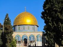 Μουσουλμανικό τέμενος Al-Aqsa Στοκ εικόνες με δικαίωμα ελεύθερης χρήσης