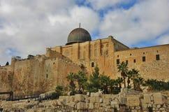 Μουσουλμανικό τέμενος Al Aqsa Στοκ Φωτογραφία