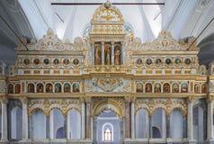 Μουσουλμανικό τέμενος Alaçatı που μετατρέπεται από την ελληνική Ορθόδοξη Εκκλησία Στοκ Εικόνες