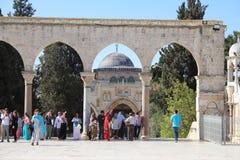 Μουσουλμανικό τέμενος aqsa Al - ναός τοποθετήστε - Ιερουσαλήμ Στοκ εικόνα με δικαίωμα ελεύθερης χρήσης