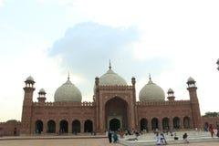 Μουσουλμανικό τέμενος Badshahi Στοκ φωτογραφία με δικαίωμα ελεύθερης χρήσης