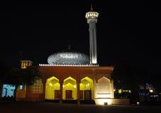 Μουσουλμανικό τέμενος Bastakiya τη νύχτα Στοκ φωτογραφία με δικαίωμα ελεύθερης χρήσης