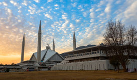 Μουσουλμανικό τέμενος Faisal στο Ισλαμαμπάντ, Πακιστάν Στοκ φωτογραφία με δικαίωμα ελεύθερης χρήσης