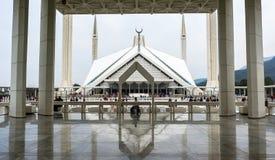 Μουσουλμανικό τέμενος Faisal στο Ισλαμαμπάντ, Πακιστάν Στοκ Φωτογραφίες
