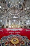Μουσουλμανικό τέμενος Fatih στην περιοχή της Ιστανμπούλ, Τουρκία Στοκ Εικόνες