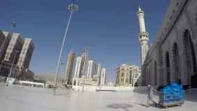 Μουσουλμανικό τέμενος Haram στον καθαριστή της Μέκκας Στοκ Φωτογραφία