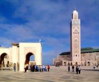 Μουσουλμανικό τέμενος Hassan ΙΙ Στοκ Φωτογραφίες