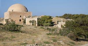 Μουσουλμανικό τέμενος Ibrahim khan. Φρούριο Fortezz. Νησί Cret Στοκ Φωτογραφία