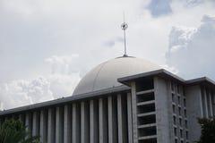 Μουσουλμανικό τέμενος Istiqlal στην Τζακάρτα Ινδονησία Στοκ φωτογραφίες με δικαίωμα ελεύθερης χρήσης