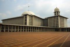 Μουσουλμανικό τέμενος Istiqlal, Τζακάρτα, Ινδονησία στοκ φωτογραφία με δικαίωμα ελεύθερης χρήσης