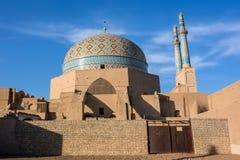Μουσουλμανικό τέμενος Jameh σε Yazd Στοκ Φωτογραφίες