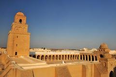 Μουσουλμανικό τέμενος Kairouan Στοκ Εικόνα