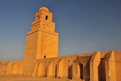 Μουσουλμανικό τέμενος Kairouan Στοκ Φωτογραφία