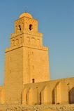 Μουσουλμανικό τέμενος Kairouan Στοκ εικόνες με δικαίωμα ελεύθερης χρήσης