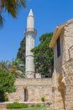 Μουσουλμανικό τέμενος Kebir, Λάρνακα, Κύπρος στοκ εικόνες