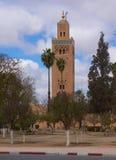 Μουσουλμανικό τέμενος Koutoubia Στοκ φωτογραφία με δικαίωμα ελεύθερης χρήσης