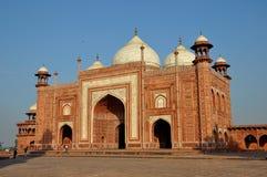 Μουσουλμανικό τέμενος Mahal Taj, Ινδία Στοκ Φωτογραφίες