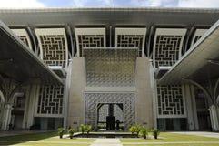 Μουσουλμανικό τέμενος Mizan Zainal Abidin Tuanku (Masjid Besi) σε Putrajaya Στοκ Εικόνες