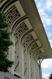 Μουσουλμανικό τέμενος Mizan Zainal Abidin Tuanku (Masjid Besi) σε Putrajaya Στοκ Φωτογραφίες