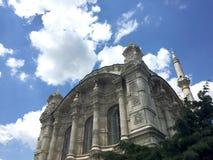 Μουσουλμανικό τέμενος Ortakoy στη Ιστανμπούλ στοκ εικόνα με δικαίωμα ελεύθερης χρήσης