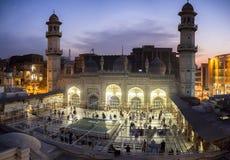 Μουσουλμανικό τέμενος Peshawar Πακιστάν Khan Mohabbat Στοκ Εικόνες