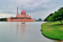 Μουσουλμανικό τέμενος Putra Στοκ Φωτογραφία