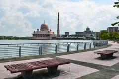 Μουσουλμανικό τέμενος Putra Στοκ Εικόνες