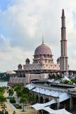 Μουσουλμανικό τέμενος Putra Στοκ Εικόνα