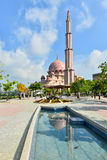 Μουσουλμανικό τέμενος Putra Στοκ Φωτογραφίες