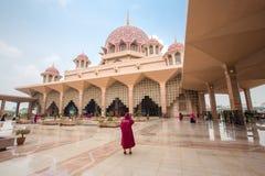Μουσουλμανικό τέμενος Putra (Masjid Putra) Στοκ Εικόνα