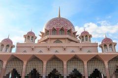 Μουσουλμανικό τέμενος Putrajaya Στοκ φωτογραφίες με δικαίωμα ελεύθερης χρήσης