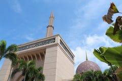 Μουσουλμανικό τέμενος Putrajaya στοκ εικόνες