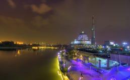 Μουσουλμανικό τέμενος Putrajaya Masjid της Μαλαισίας Στοκ Εικόνες