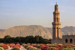 Μουσουλμανικό τέμενος Qaboos σουλτάνων - Muscat, Ομάν Στοκ Εικόνα