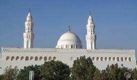 Μουσουλμανικό τέμενος Qiblatain στο medina, Σαουδική Αραβία Στοκ εικόνα με δικαίωμα ελεύθερης χρήσης