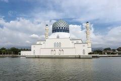 Μουσουλμανικό τέμενος Sabah Στοκ εικόνες με δικαίωμα ελεύθερης χρήσης