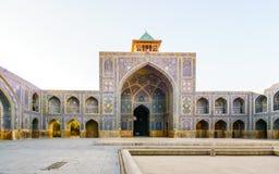 Μουσουλμανικό τέμενος Shah στο Ισφαχάν, Ιράν στοκ εικόνες