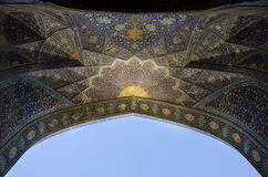 Μουσουλμανικό τέμενος Shah στοκ εικόνα με δικαίωμα ελεύθερης χρήσης