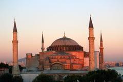 Μουσουλμανικό τέμενος Sophia Hagia Στοκ φωτογραφία με δικαίωμα ελεύθερης χρήσης