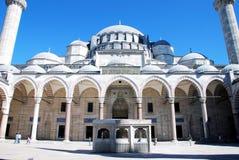 Μουσουλμανικό τέμενος Suleymaniye Στοκ Εικόνες