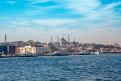 Μουσουλμανικό τέμενος Suleymaniye Στοκ Φωτογραφία