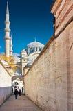 Μουσουλμανικό τέμενος Suleymaniye (camii), Ιστανμπούλ Στοκ Εικόνα