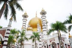 Μουσουλμανικό τέμενος Ubudiah στην Κουάλα Kangsar Στοκ φωτογραφία με δικαίωμα ελεύθερης χρήσης