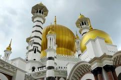 Μουσουλμανικό τέμενος Ubudiah στην Κουάλα Kangsar, Perak Στοκ φωτογραφία με δικαίωμα ελεύθερης χρήσης