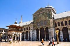 Μουσουλμανικό τέμενος Umayyad στοκ φωτογραφία