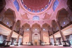 Μουσουλμανικό τέμενος & x28 Putra Masjid Putra& x29  Στοκ εικόνες με δικαίωμα ελεύθερης χρήσης