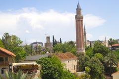 Μουσουλμανικό τέμενος Yivli minare Στοκ Εικόνες