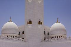 Μουσουλμανικό τέμενος Zayed σουλτάνων Στοκ φωτογραφία με δικαίωμα ελεύθερης χρήσης